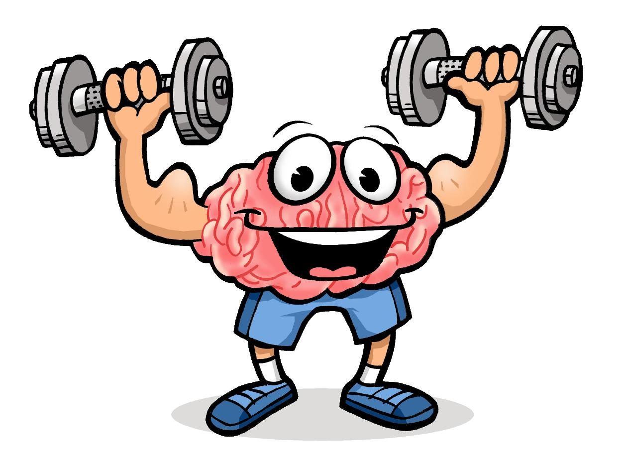 Clipart Brain Power.