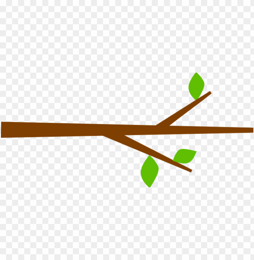 tree branch with leaves clip art at clker.