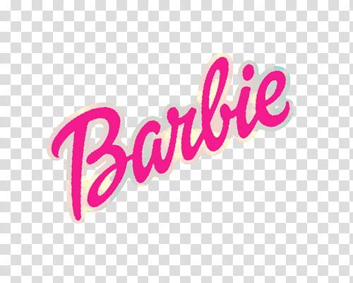 Brand Logos s, Barbie logo transparent background PNG.