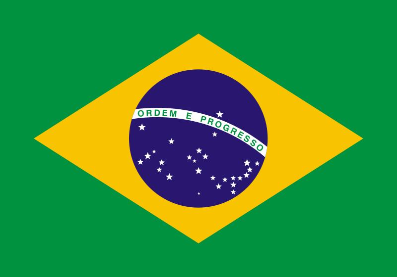 Free Clipart: Bandeira do Brasil.