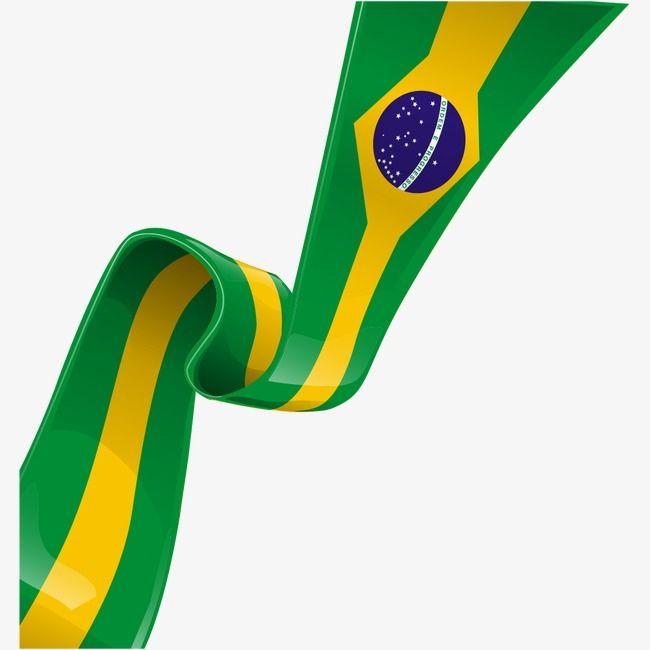 Flag Of Brazil, Flag Clipart, Brazil Creative PNG.