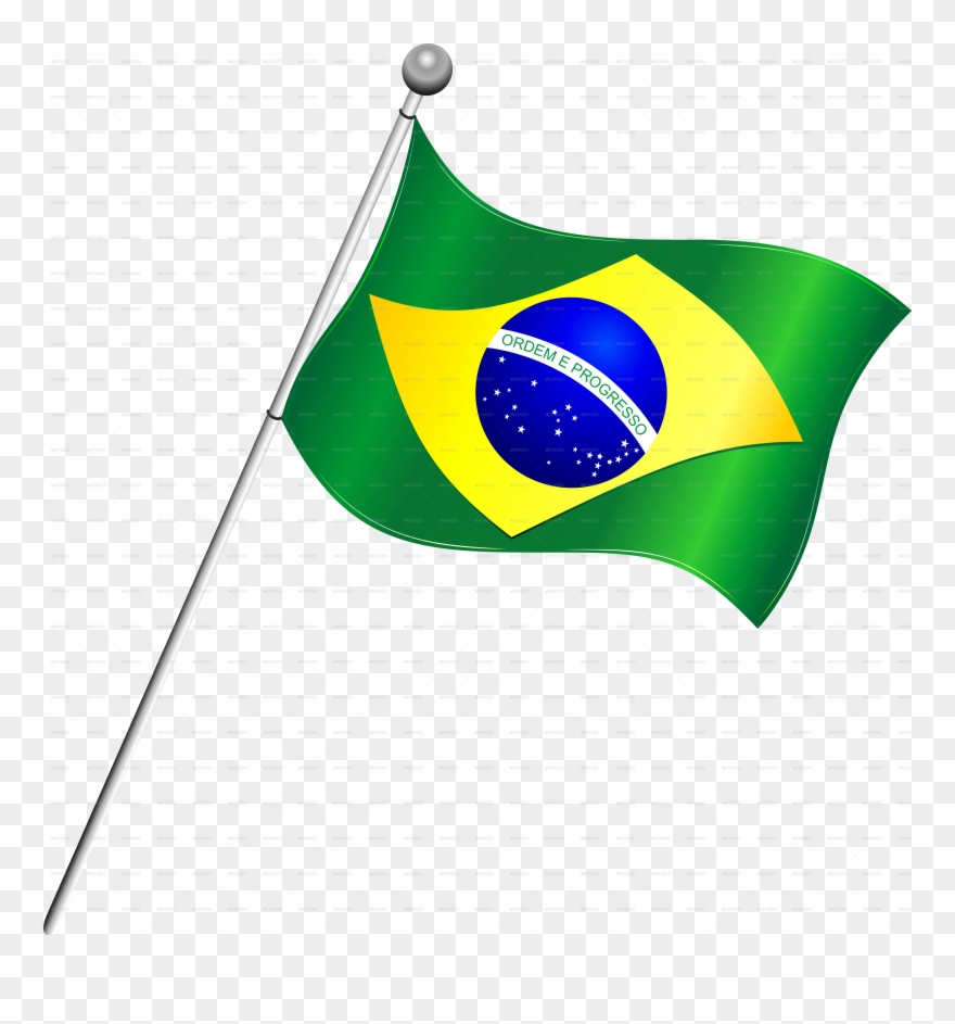 Flag Clipart Brazil.