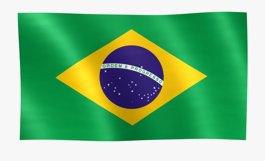 Flag Png Brazilian Flag Transparent Clipart.