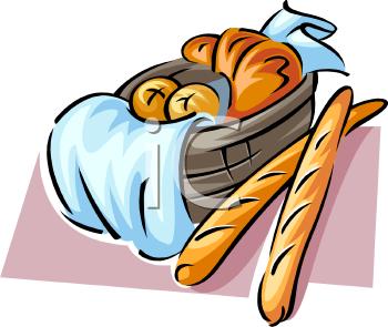 Bread Basket Clipart Free.