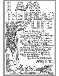 Free Life Clipart i am the bread, Download Free Clip Art on Owips.com.