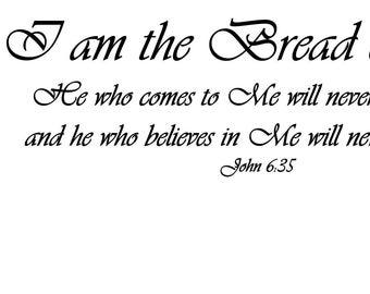 I am bread of life.