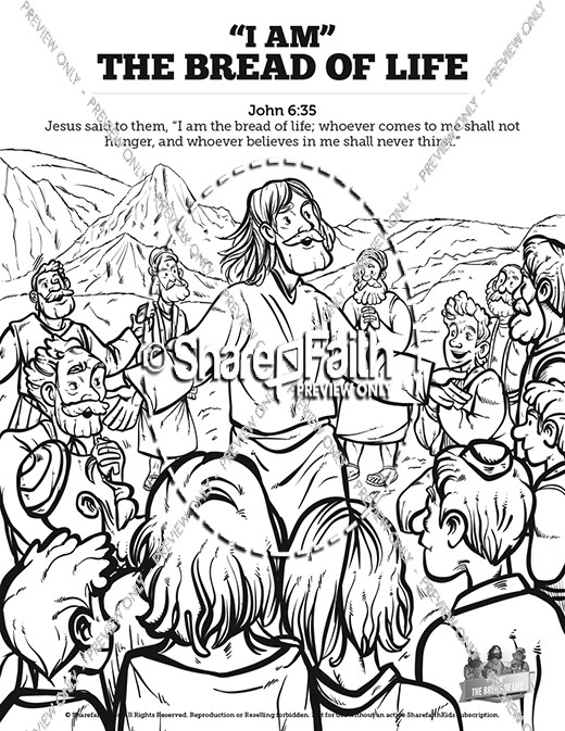 John 6 Bread of Life Bible Video for Kids.