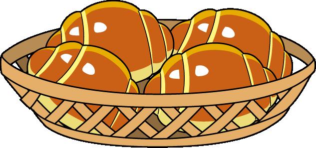Bread roll clipart.