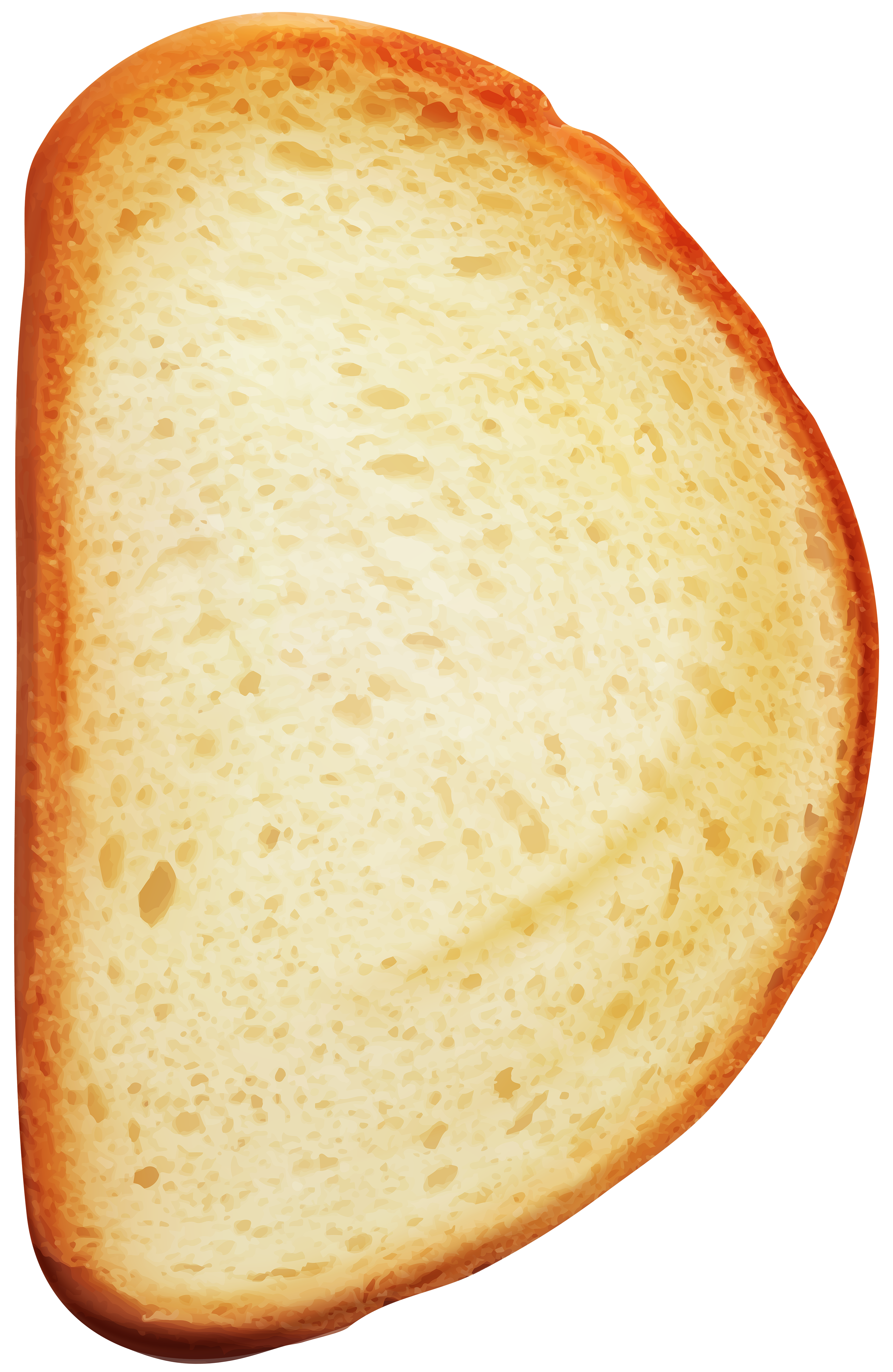 Slice of Bread PNG Clip Art.
