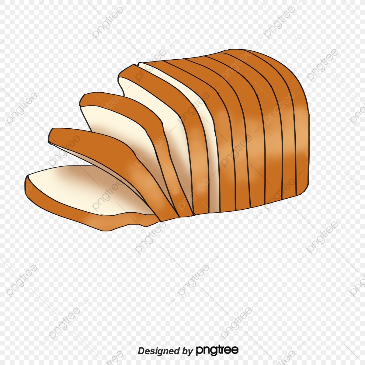 Slice Of Bread, Slice, Bread PNG Transparent Clipart Image and PSD.