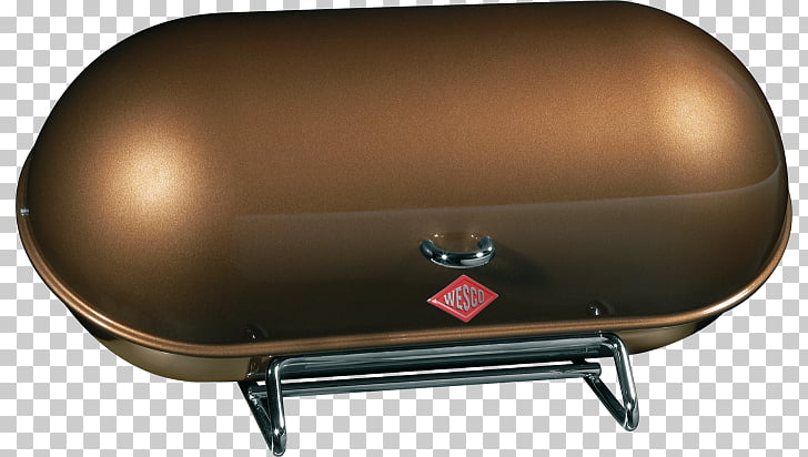 Breadbox Container, brown bread PNG clipart.