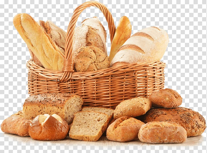 Bakery Rye bread White bread Flavored Breads, bread transparent.