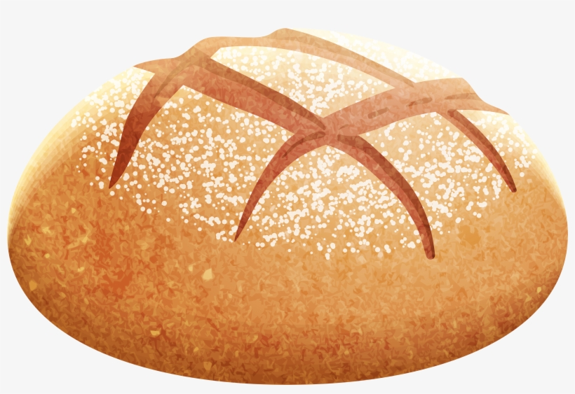 Artisan Bread Png Clip Art.
