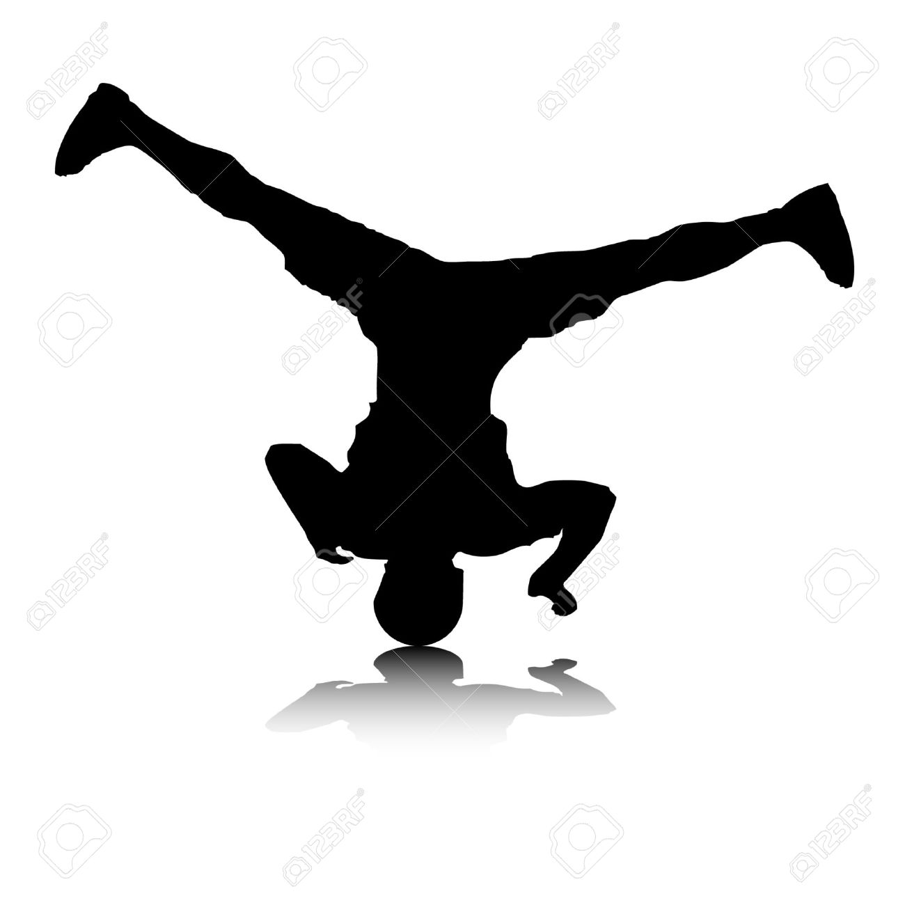 Breakdance clipart 2 » Clipart Station.