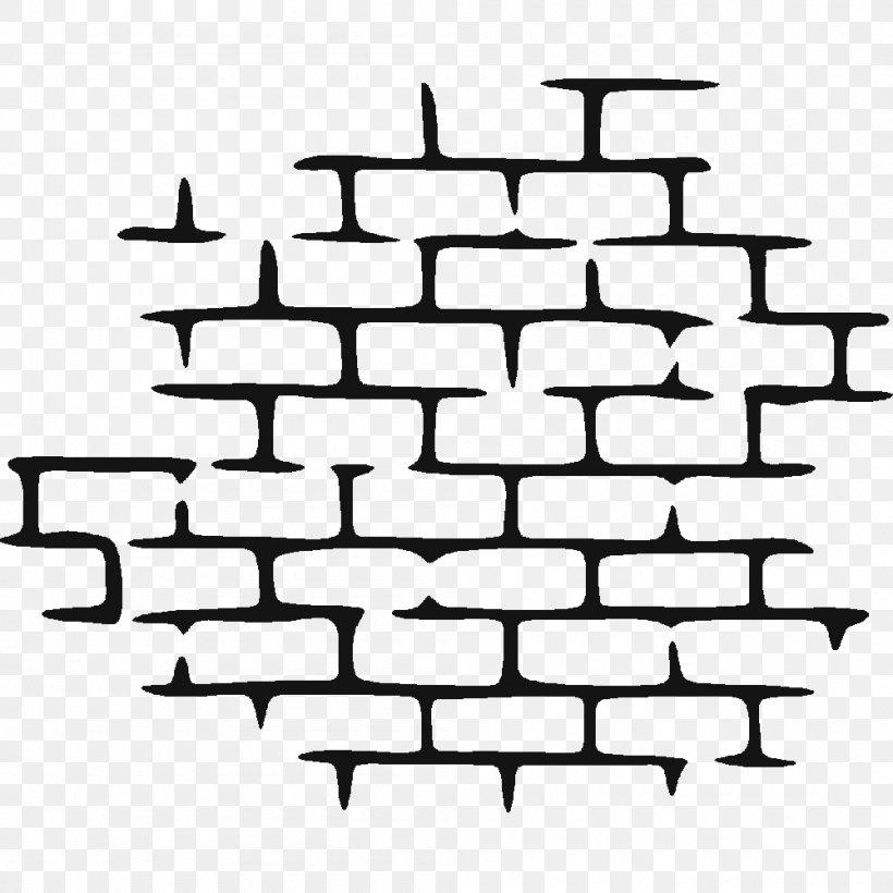 Clip Art Wall Brick Sticker, PNG, 1000x1000px, Wall, Area.