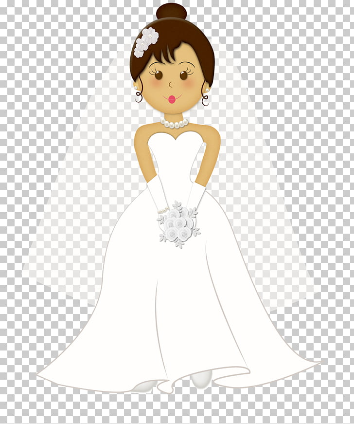 Wedding invitation Bride Marriage , cartoon bride, bride.