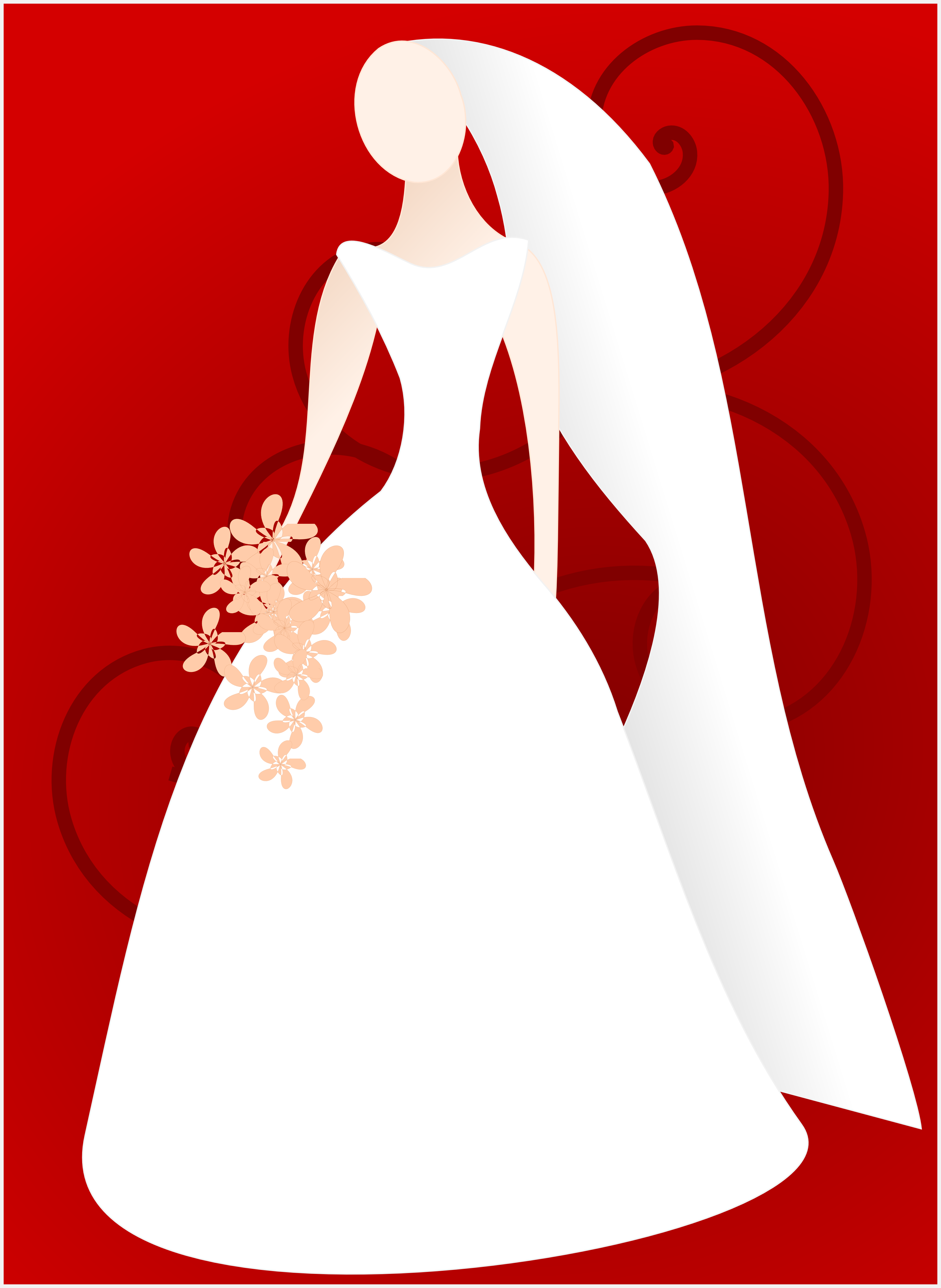 Bridal shower clipart for invitations.