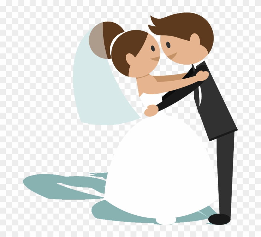 Clipart Bride And Groom Animation.