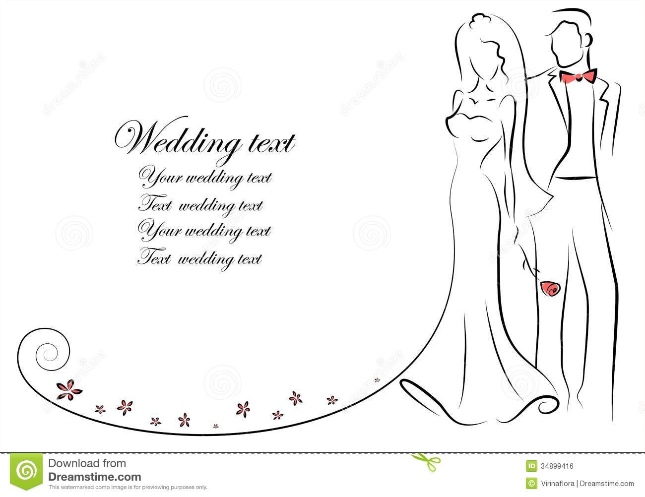 Free Wedding Clipart Images Bride And Groom.