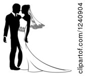 Clipart Bride And Groom Free.
