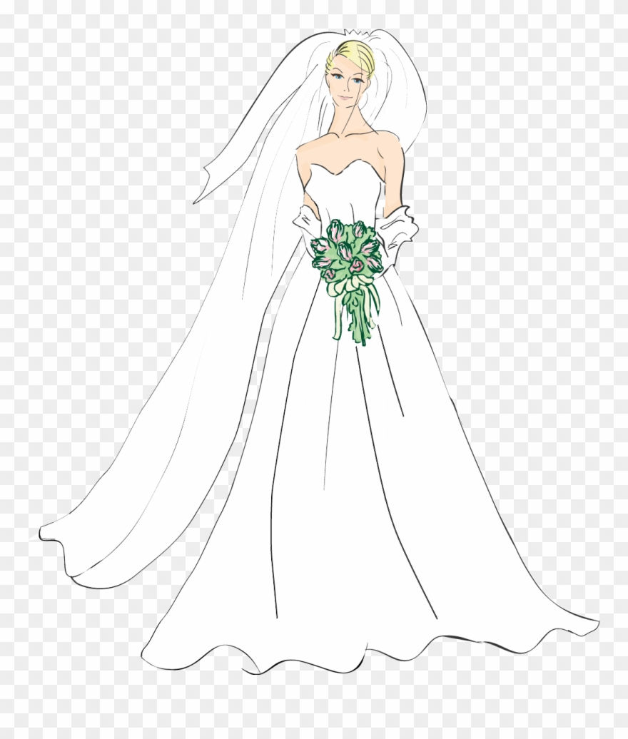 Medium Resolution Of Bridal Good Wedding Bride Clipart.