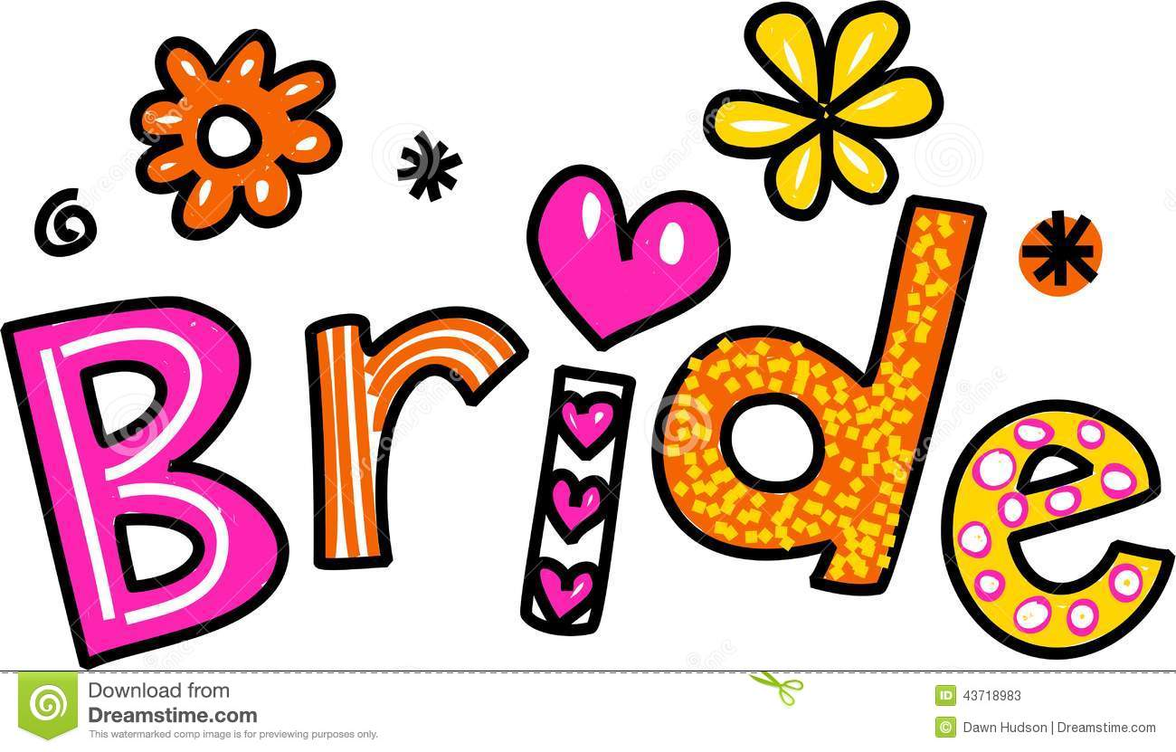 Bride To Be Clipart.