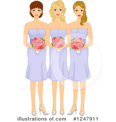 Bridesmaid Clipart #1247911.