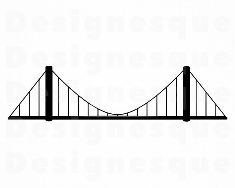 Bridge SVG, Bridge Clipart, Bridge Files for Cricut, Bridge Cut Files For  Silhouette, Bridge Dxf, Bridge Png, Bridge Eps, Bridge Vector.