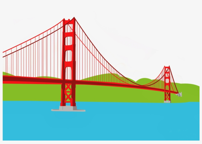 Collection of Gate bridge clipart.