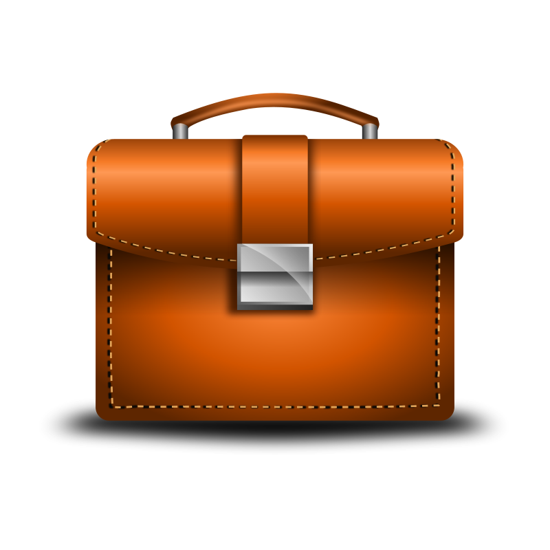 Free Clipart: Briefcase Vector.