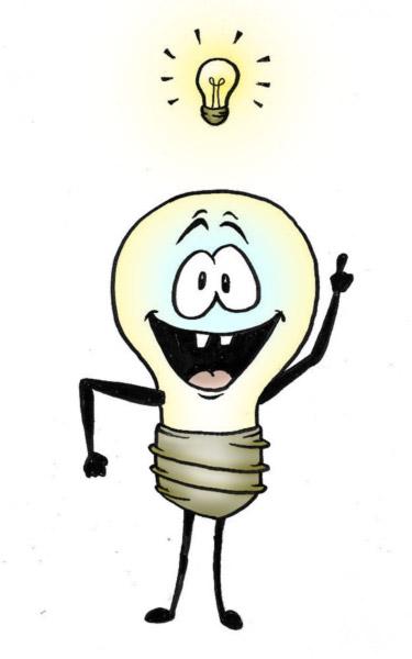 Bright idea light bulb 7 yay free clipart images.