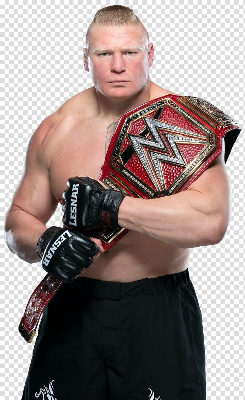 Brock Lesnar Universal Champion NEW transparent background.
