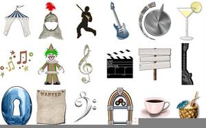 Broderbund Software Print Creativity Projects Clipart.