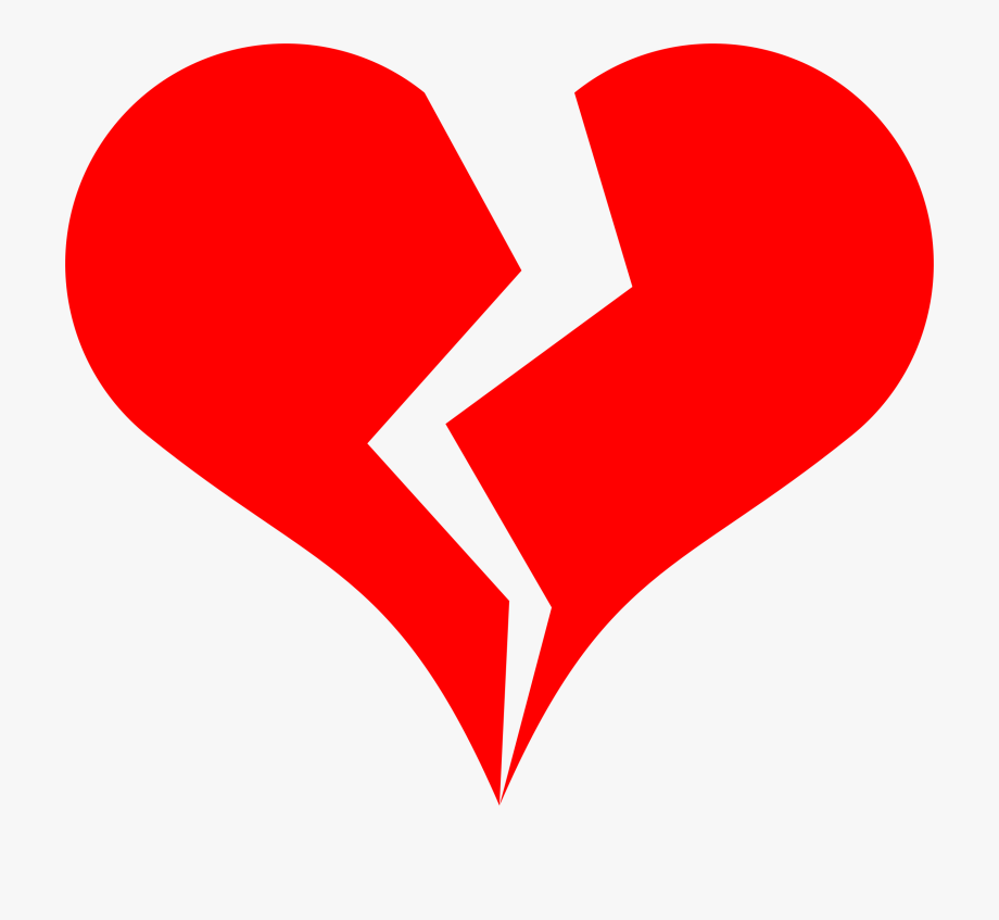 Clipart Broken Hearts.