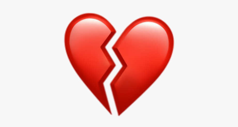 Broken Heart Clipart Sad.