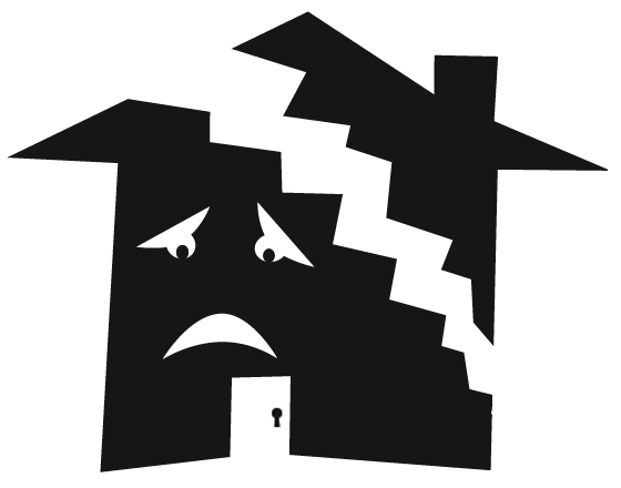Btocken house clipart black and white collection.