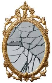 Image result for broken mirror.