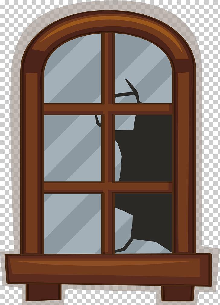 Euclidean Window Glass, Broken glass windows PNG clipart.