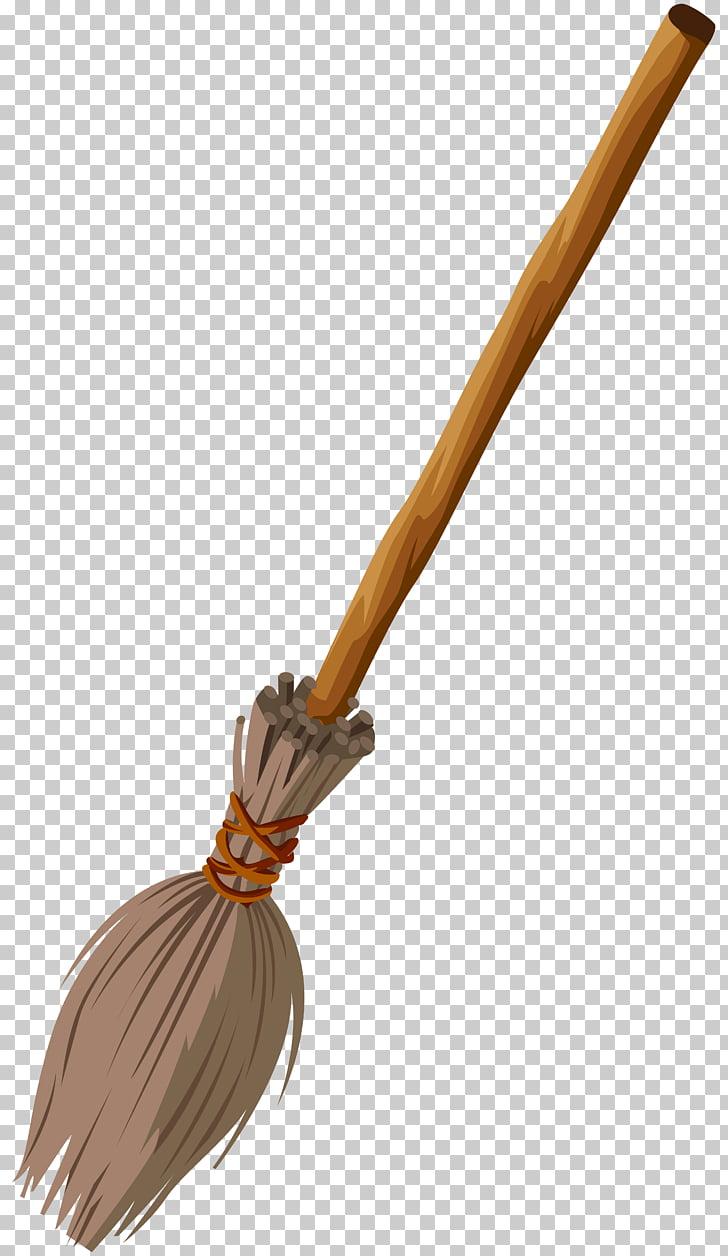 Witch\'s broom Witchcraft , Witch Broom Transparent , beige.