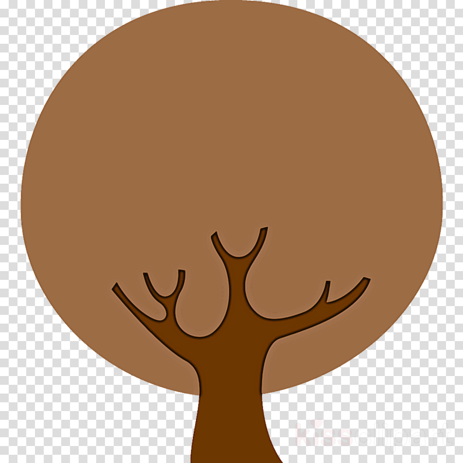 brown head deer wildlife gesture clipart.