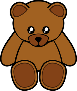 1660 brown bear clipart.