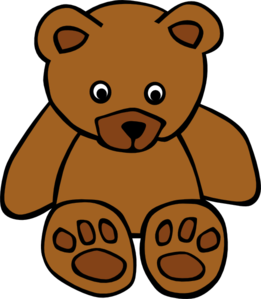 Baby Brown Bear Clip Art at Clker.com.
