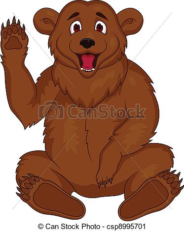 Brown bear Clip Art Vector Graphics. 5,137 Brown bear EPS clipart.