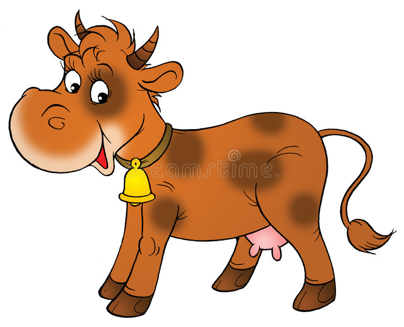Brown cow clipart » Clipart Station.