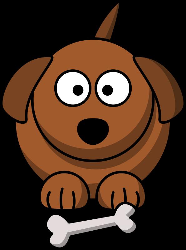 Cartoon dog by lemmling.