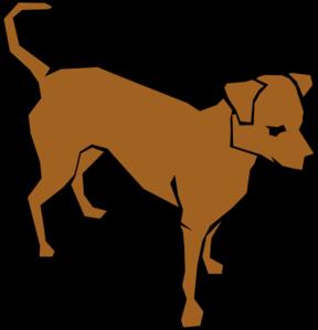 Brown Clip Art Dog Clip Art at Clker.com.
