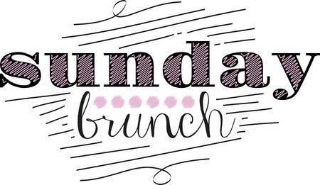 Sunday brunch clipart » Clipart Portal.