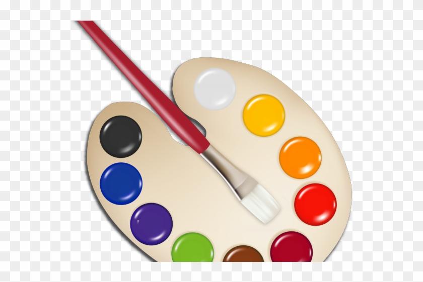 Paint Brush Clipart Brush Border.