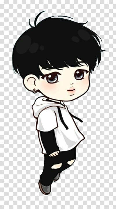 BTS Chibi Drawing Fan art K.