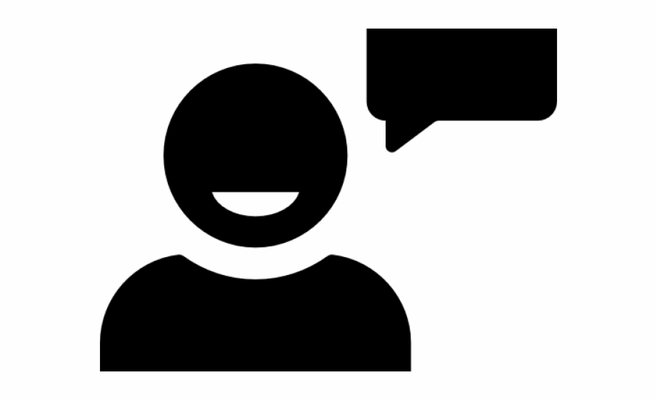 Person Icons Speech Bubble Png Download.